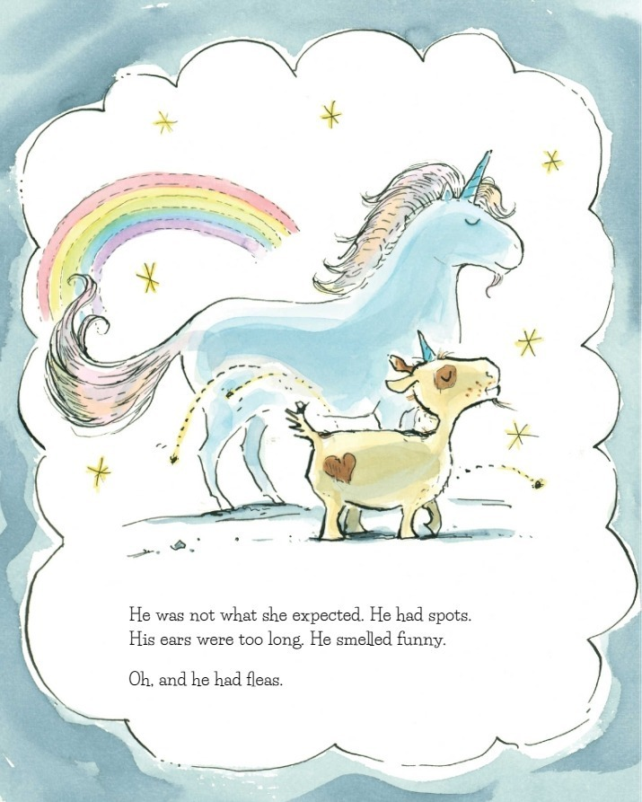 review a unicorn named sparkle